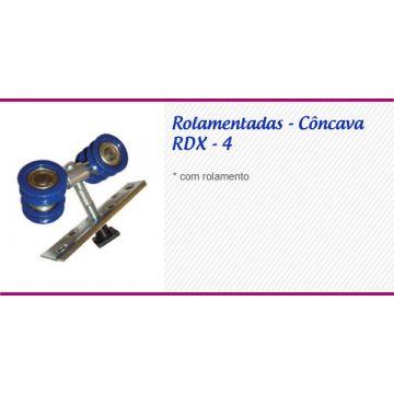 ROLDANA CONC. 4 RODAS ROLAMET PARAF EM CIMA