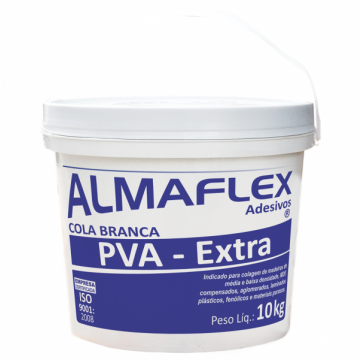 ALMAFLEX 768 COLA PVA EXTRA BRANCA 10 KG