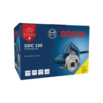 SERRA MARMORE 220V TITAN GDC 150 1500W - BOSCH
