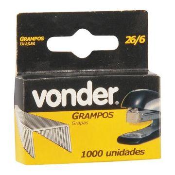 GRAMPO 26/6 6MM P/ GRAMPEADOR MANUAL DE ESCRITORIO