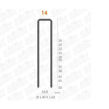 GRAMPO 14/38 - CAIXA COM 17.000 PECAS