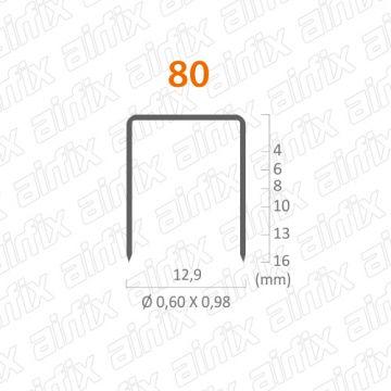 GRAMPO 80/16 - CAIXA COM 6.250 PECAS