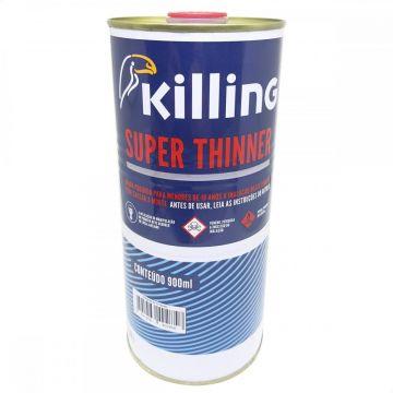 SUPER THINNER DILUICAO TINTAS NITRO E SINTETICA 0,9L